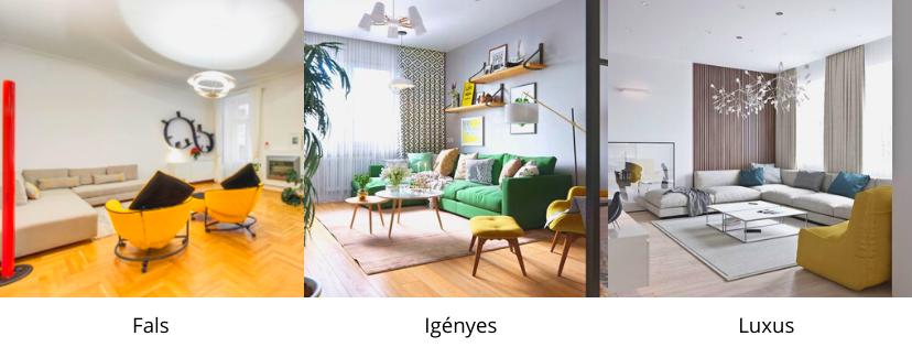 3 különböző minőségű nappali