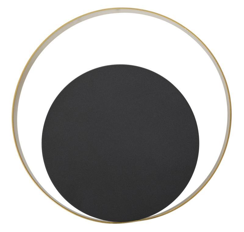 arany és fekete kerek lámpa
